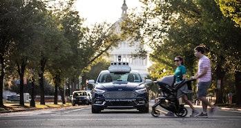 Ford's autonomous car in D.C.