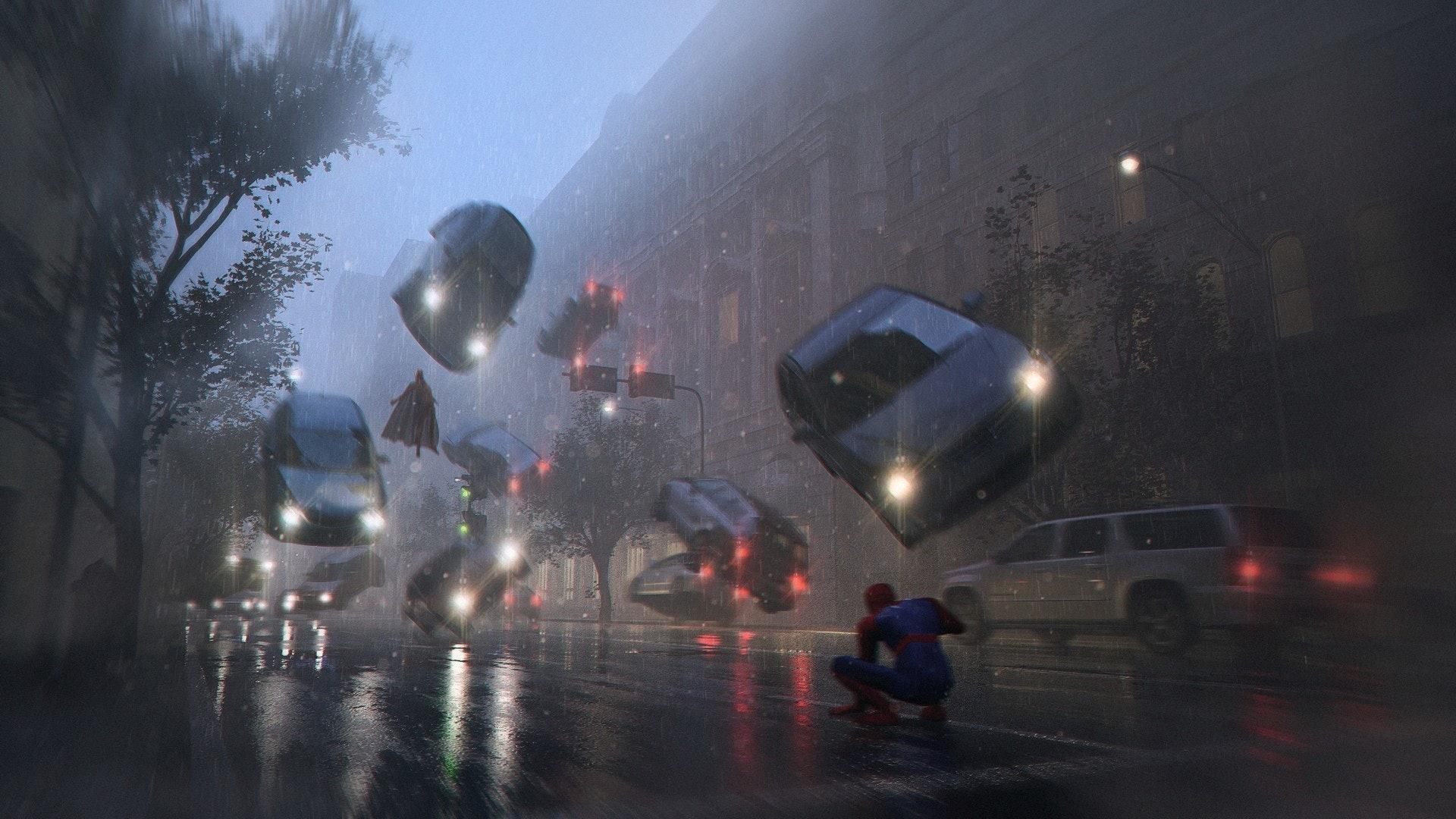 """Spiderman vs Magneto"" by Wai Kin Lam"