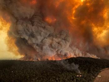 australia fires climate change