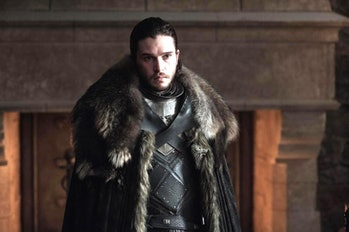 Kit Harington as Jon Snow in 'Game of Thrones' Season 7