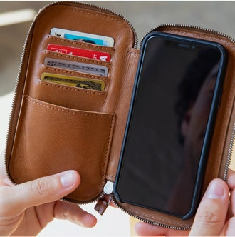 This Is GroundStash 2 Magnetic Phone Wallet