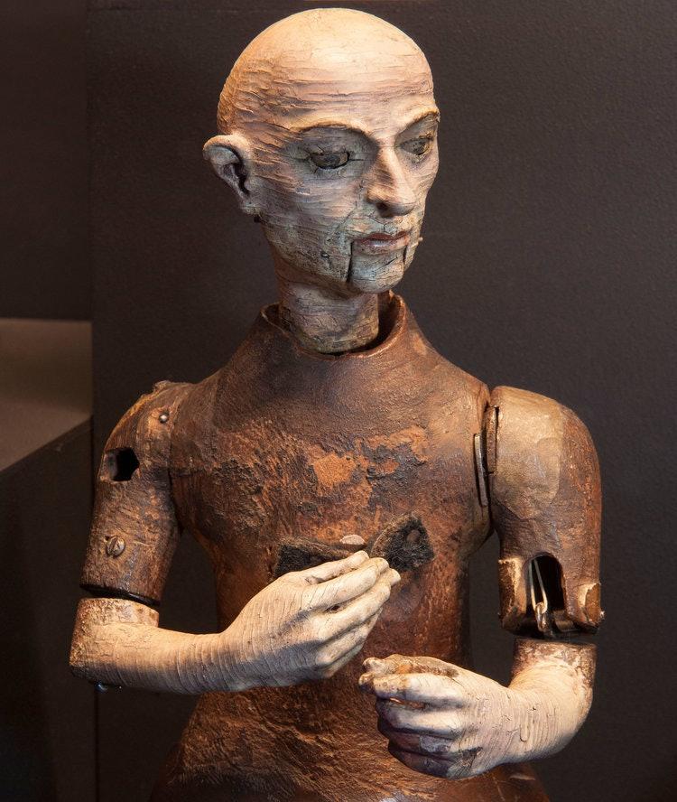 robotic friar automaton
