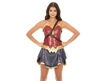 DC Comics Wonder Woman Warrior Corset and Skirt Costume Set