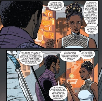 Shuri is the smartest person in the MCU.