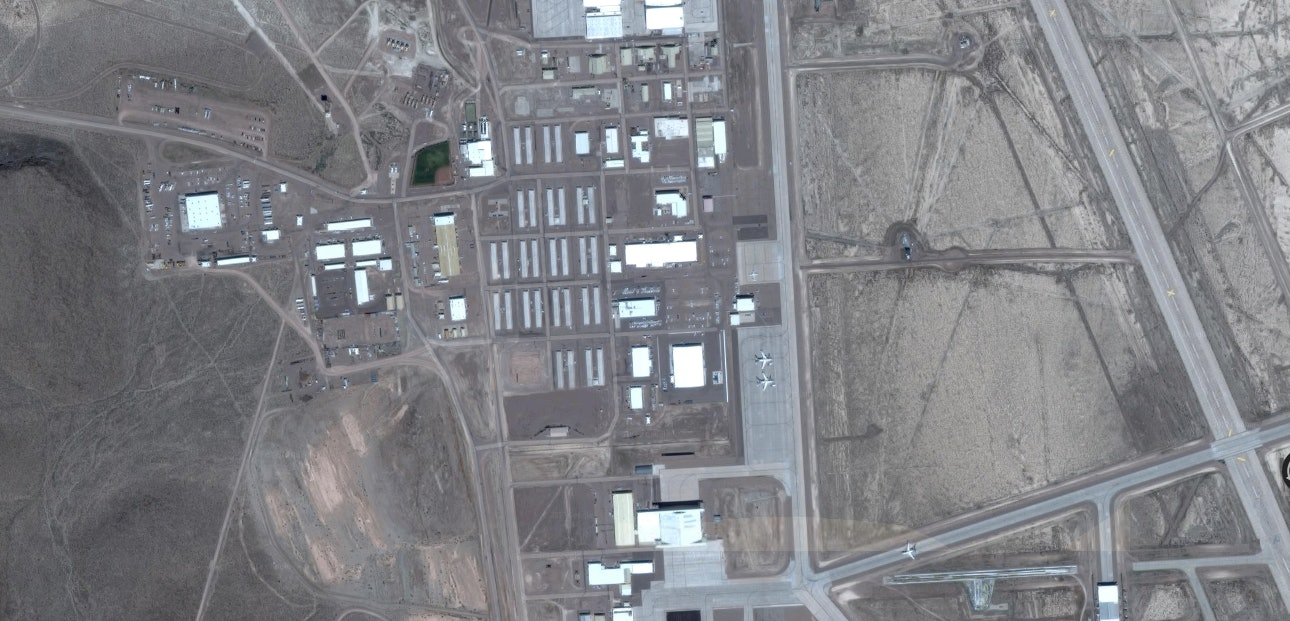 Google Timelapse Maps Reveal Area 51 In Stunning Detail