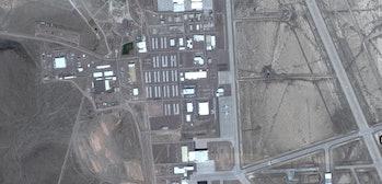 google maps area 51 groom lake nevada