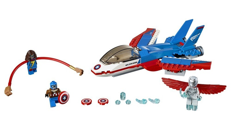Product for Ms. Marvel Lego set