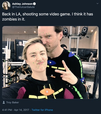 ashley johnson troy baker the last of us part 2 motion capture