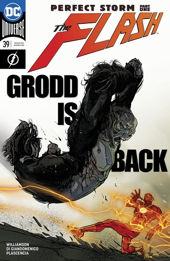 The Flash Gorilla Grodd