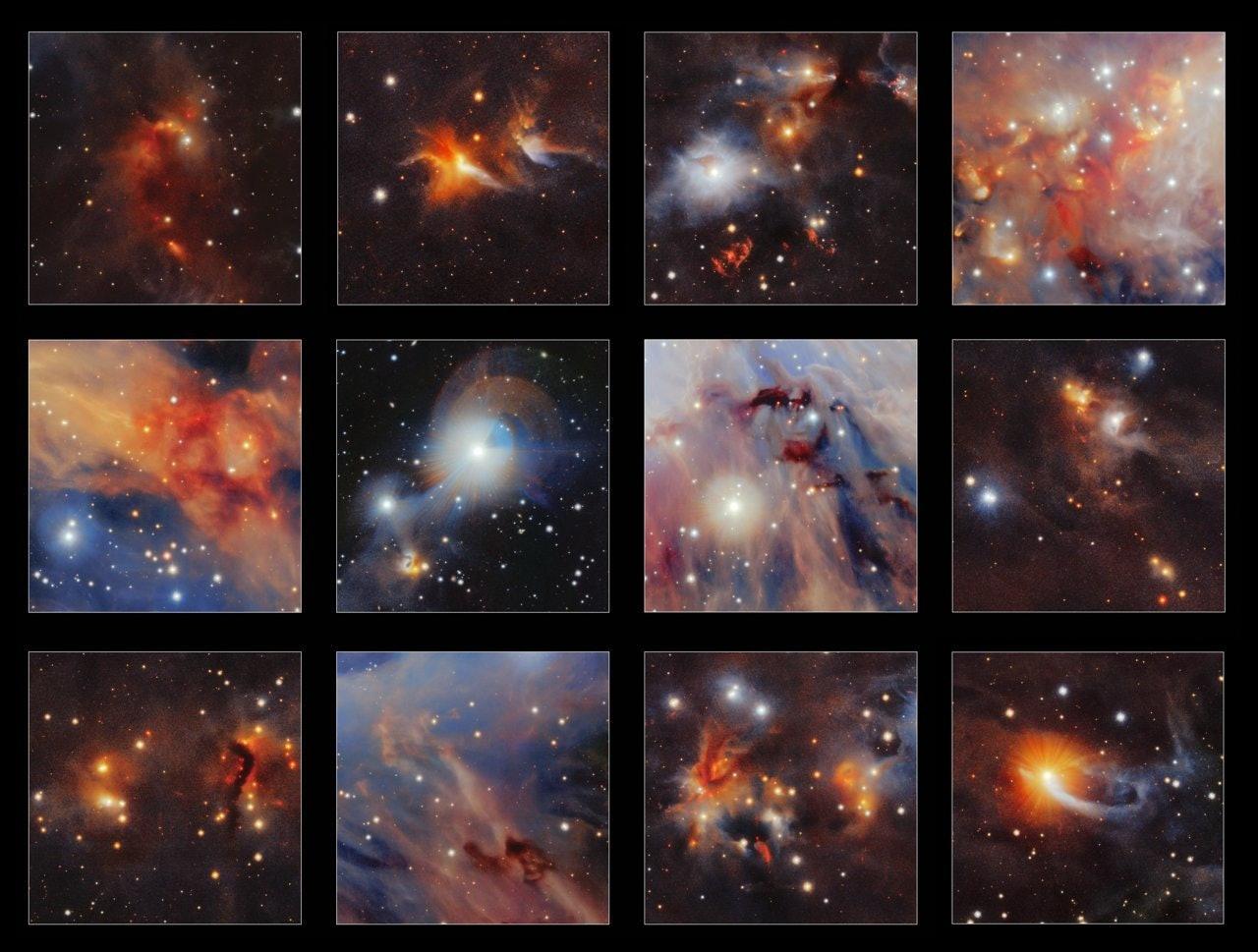 Orion A VISTA image