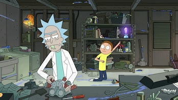 Morty is very excited to join the Vindicators.
