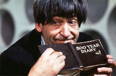 Patrick Troughton as the 2nd Doctor.