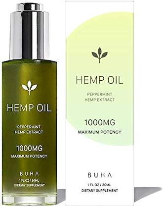 BUHA Hemp Oil for Pain & Anxiety Relief