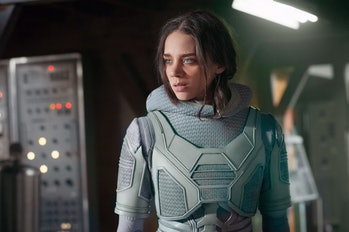 Hannah John-Kamen plays Ava Starr, aka Ghost, in 'Ant-Man and the Wasp'.