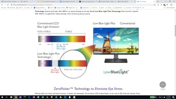 Benq monitor protect your eyes from blue light