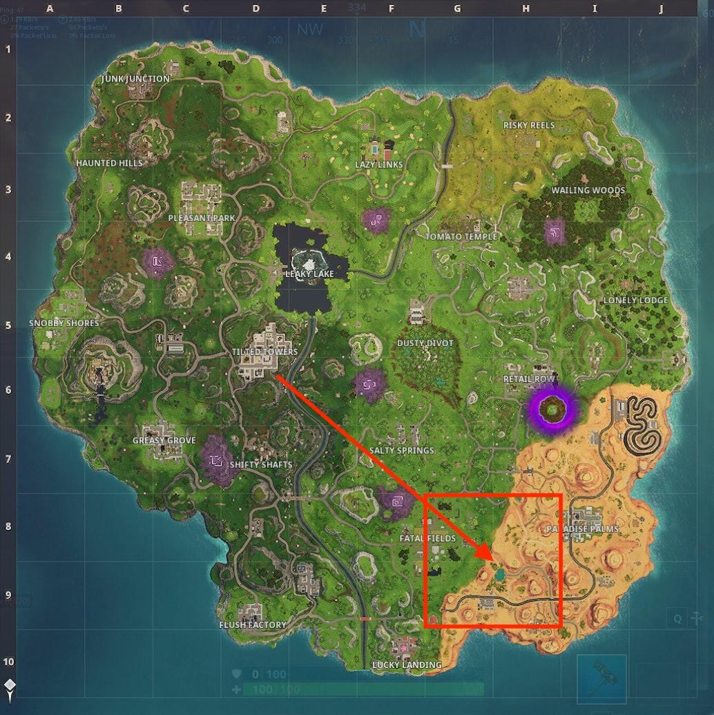 'Fortnite' Week 10 Hunting Party Coordinates