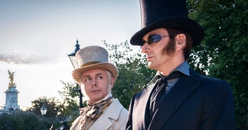 Michael Sheen and David Tennant in 'Good Omens'