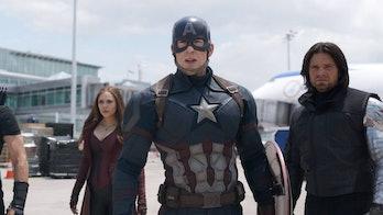 captain america civil war steve bucky
