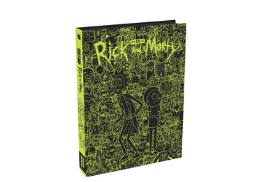 rick and morty book