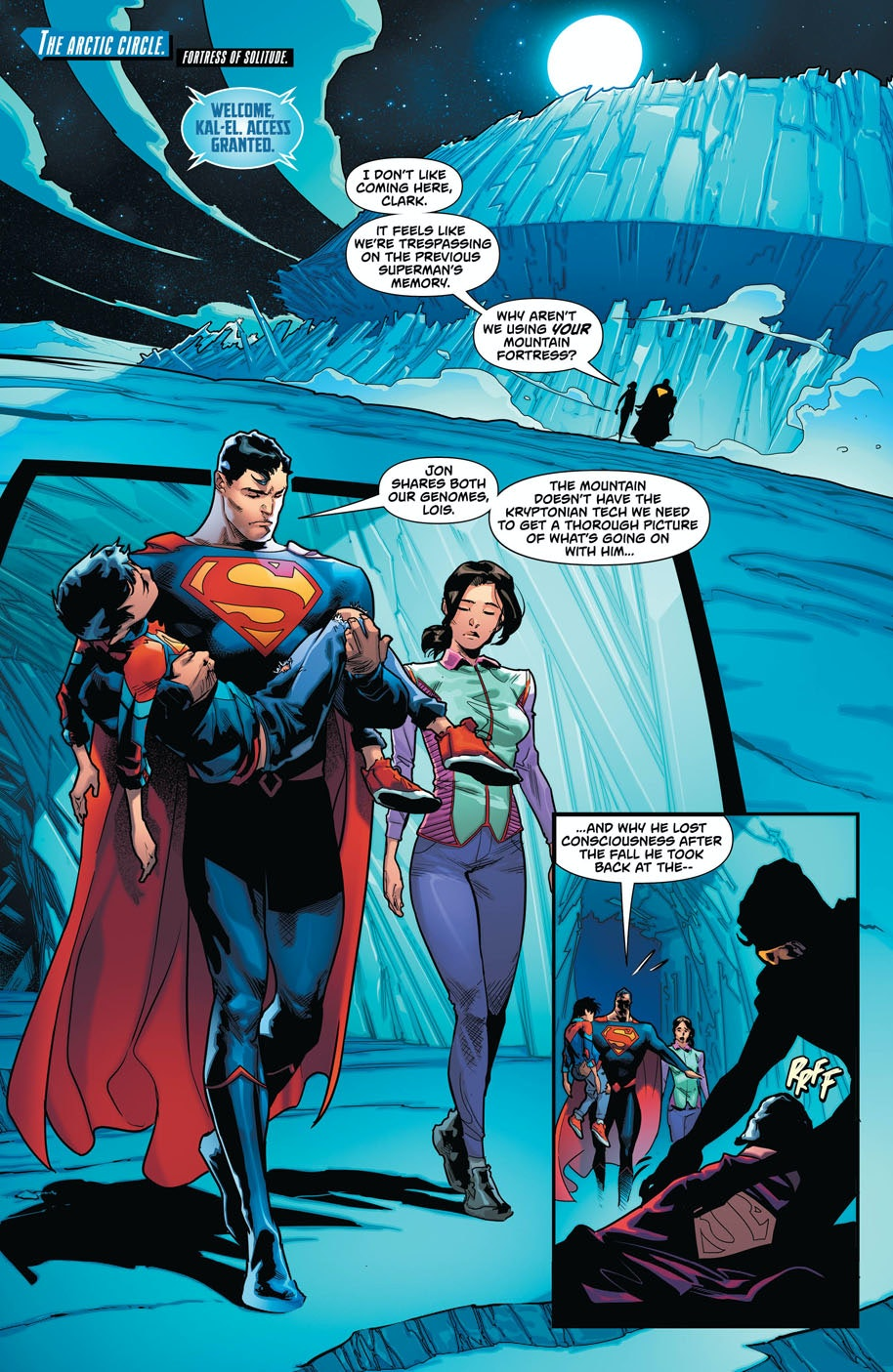 Superman Comics Fortress of Solitude