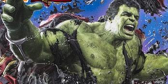 Hulk battle of wakanda