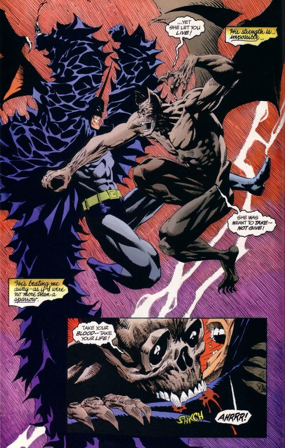 Batman and Dracula