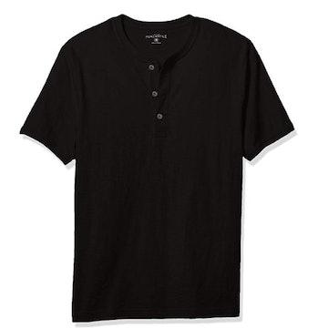 J.Crew Mercantile Men's Short-Sleeve Slub Cotton Henley