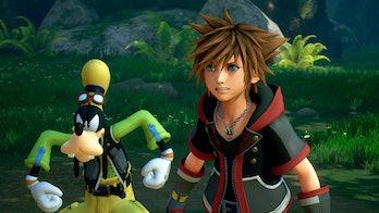 Kingdom Hearts III Goofy and Sora