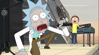 Rick Sanchez gets schwifty.