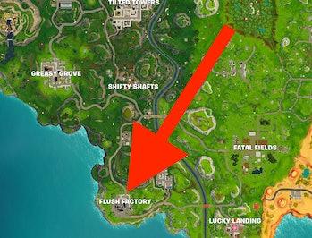 'Fortnite' map Flush Factory