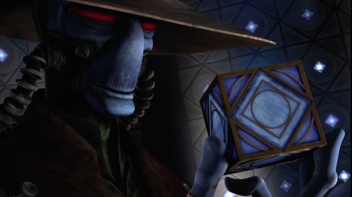 star wars holocron cad bane
