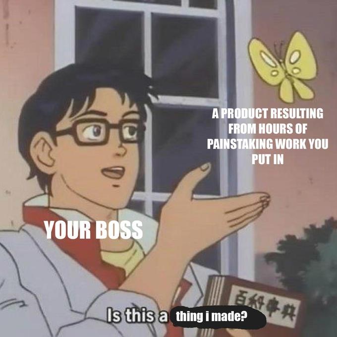 boss pigeon meme
