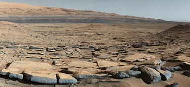mars curiosity gale crater