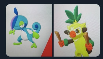 'Pokémon Sword and Shield' starter evolutions leaked