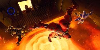 Fortnite Season 8 Week 2 Discovery Loading Screen Hidden Banner