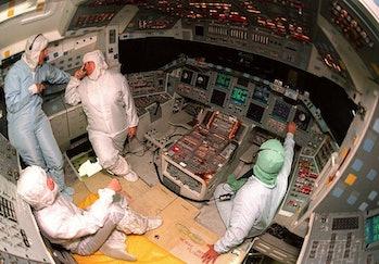 space flight space shuttle