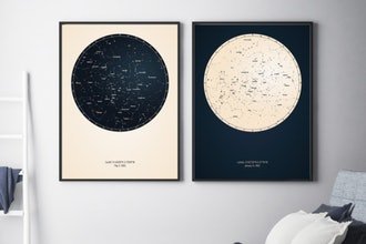 Printed Star Map