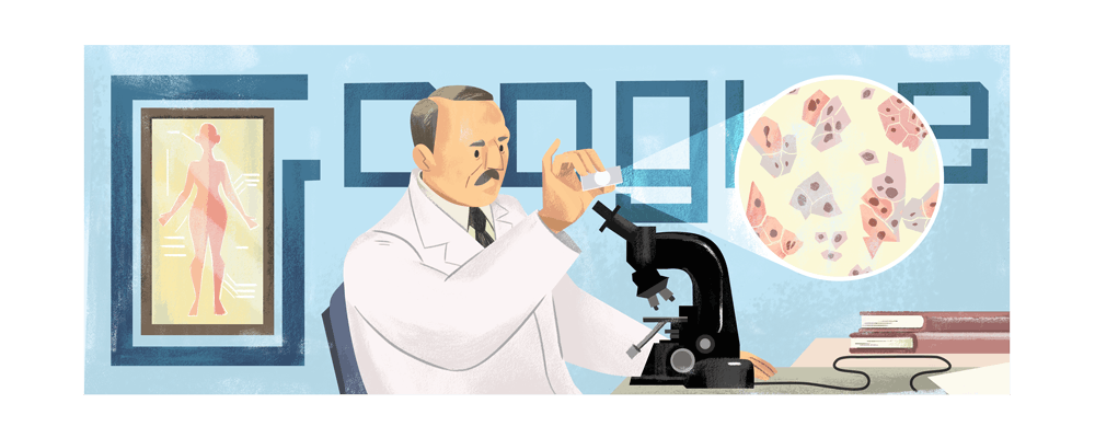 Georgios Papanikolaou, Google Doodle
