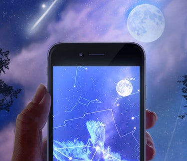 This illustration by Star Chart of what its app can do is eye-popping.