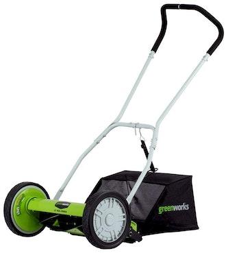 Greenworks Reel Lawn Mower