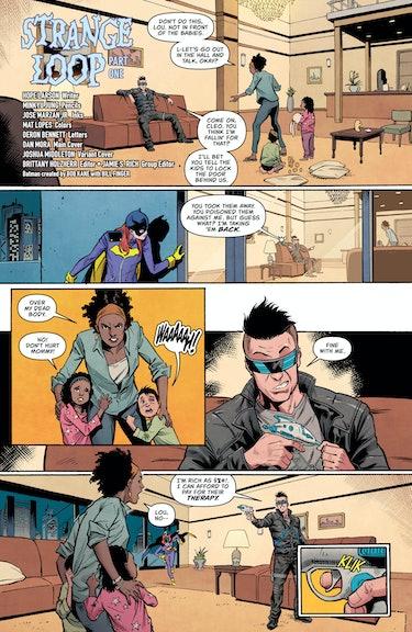 Batgirl 22 Hope Larson
