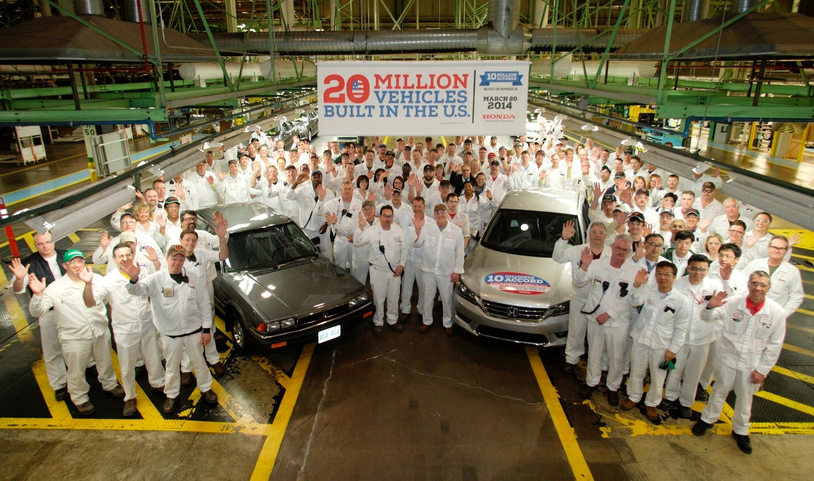The Honda Plant in Ohio.