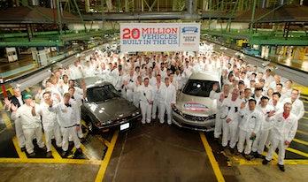 The Honda Plant in Ohio.