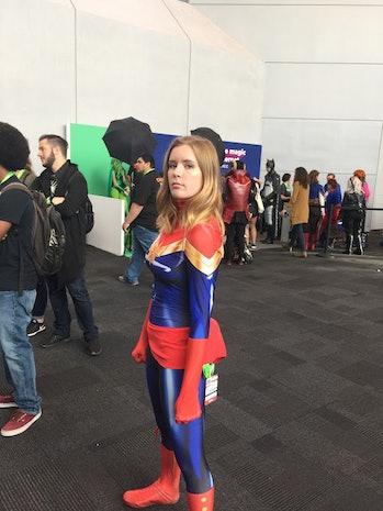 nycc cosplay captain marvel