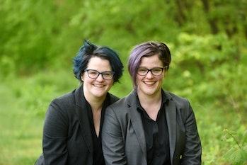 Emily, left, and Amelia, right, Nagoski, authors of 'Burnout'.