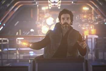 Santiago Cabrera as Chris Rios in 'Star Trek: Picard'