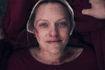 A bloodied June in the Season 3 finale of *The Handmaid's Tale*.