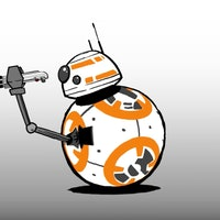 Watch BB-8 Dangerously Swing a Lightsaber for Star Wars Day