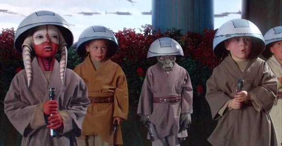 Younglings in 'Attack of the Clones' (2002)