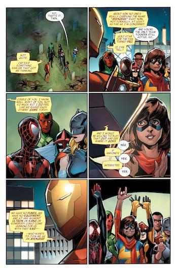 All New All Different Marvel Avengers Ms. Marvel